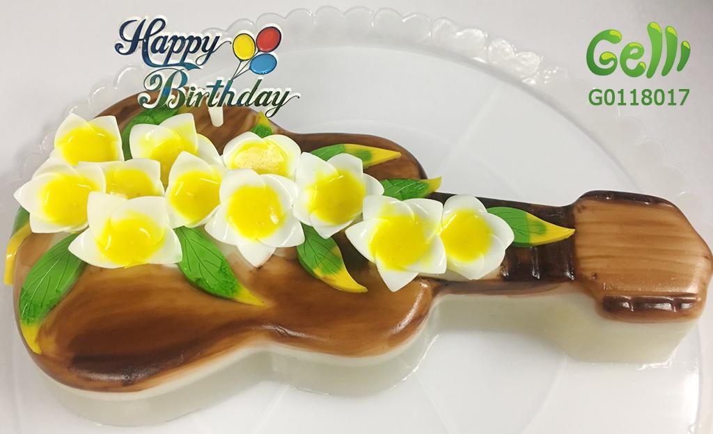 mẫu bánh sinh nhật rau câu cho nam