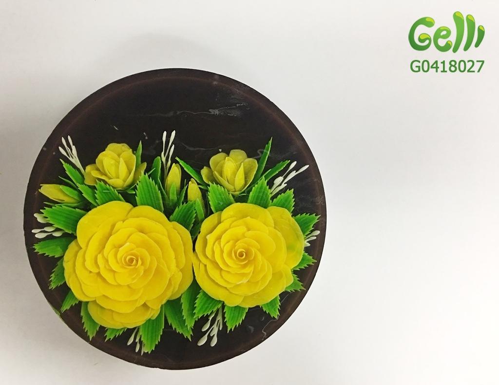 Bánh sinh nhật rau câu hoa cho nữ