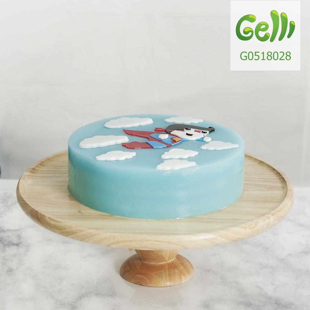 Bánh sinh nhật cho bé trai hình siêu nhân