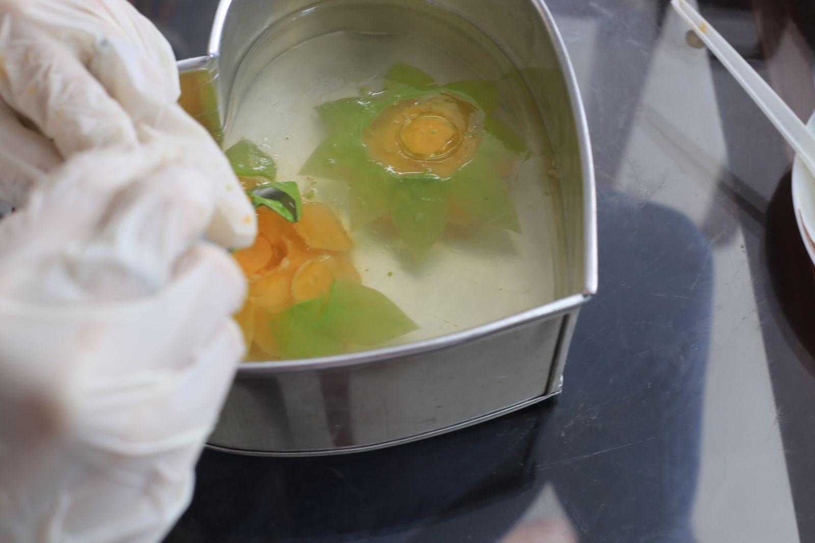 Làm Bánh Sinh Nhật Rau Câu 3D