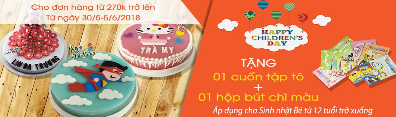 Bánh sinh nhật Rau câu Gelli