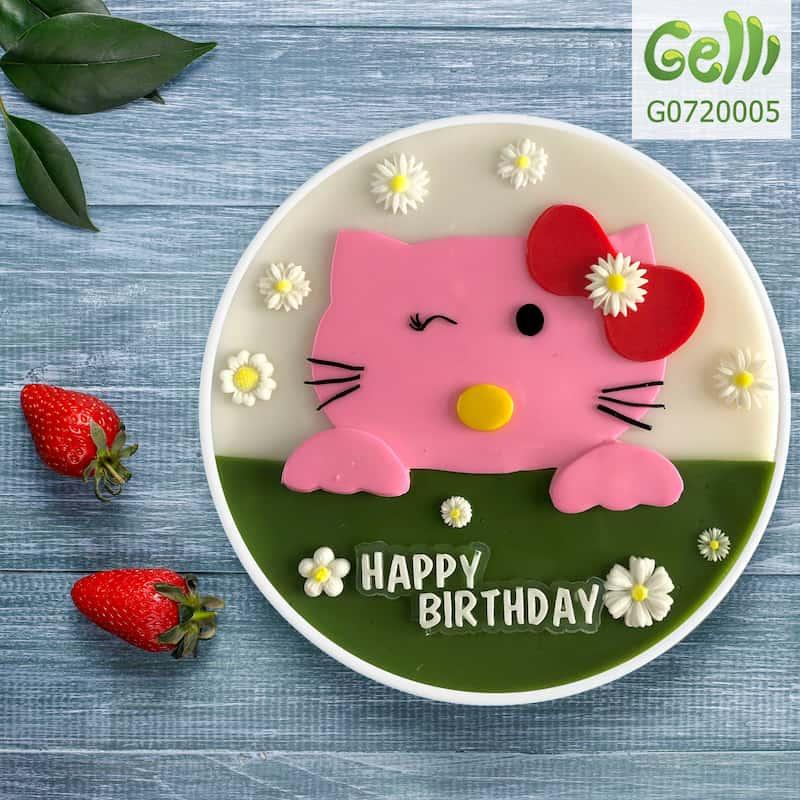 Cẩm nang miễn phí - tiết lộ cách chọn bánh sinh nhật hello kitty đẹp cho bé gái 2